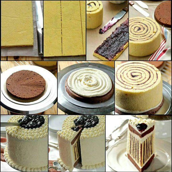 Zakręcony tort