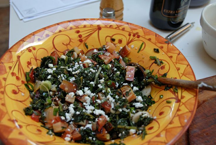 Roasted Beet Salad with Beet Greens and Feta http://www.epicurious.com ...