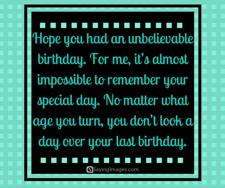 29 Best Belated Birthday Wishes & Quotes Images On