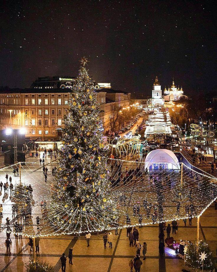 Merry Christmas!  Lovely atmosphere in Kyiv Ukraine  Photo: @saaggo Amazing!  #living_europe #kiev #ukraine #ukrainian #architecture #easteurope #europe #travel #traveladdict #loves_europe #europe_tourist #travelphotography #cityscape #landscaping #loves_landscape #ig_europe #europa #super_europe #postcardsfromtheworld #wu_europe #europe_gallery #europe_vacations #places_wow #visitukraine #ig_kiev #kyiv #architecturelovers #landscapelovers #archilovers