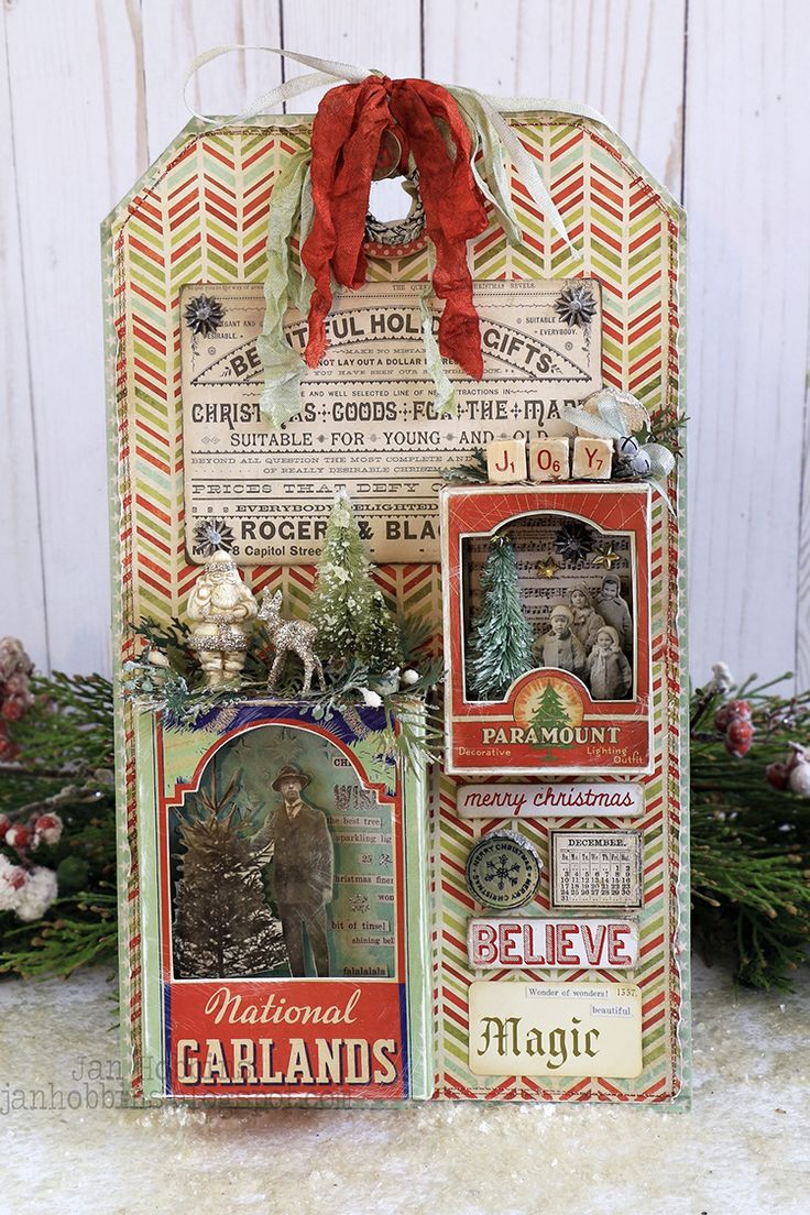 Hello everyone!  We're already at Week 4 of the Tim Holtz Holiday Inspiration Series and I hope you are all enjoying the amazing creations...