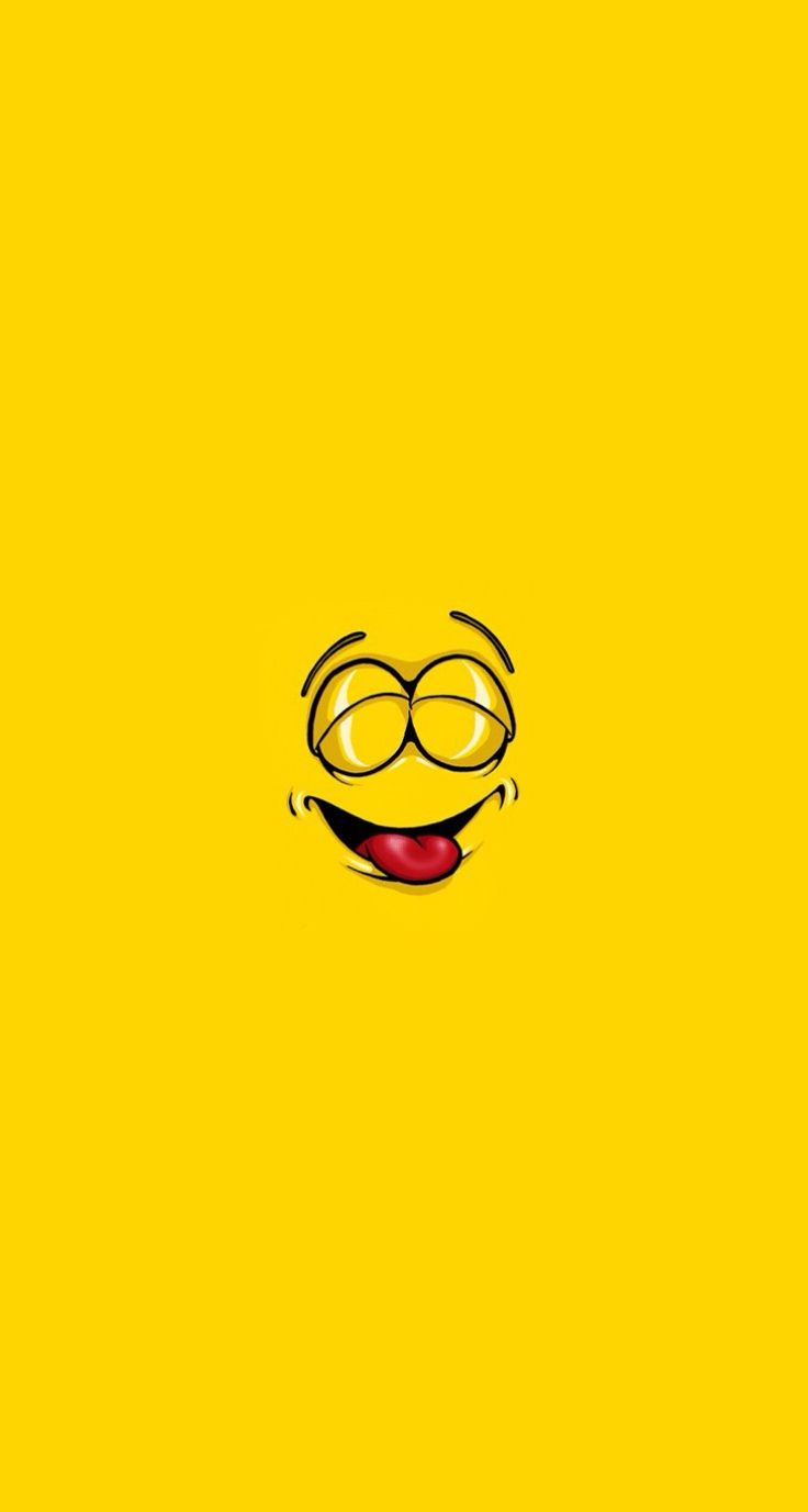 Smiley faces Simple cartoon iPhone wallpapers mobile9