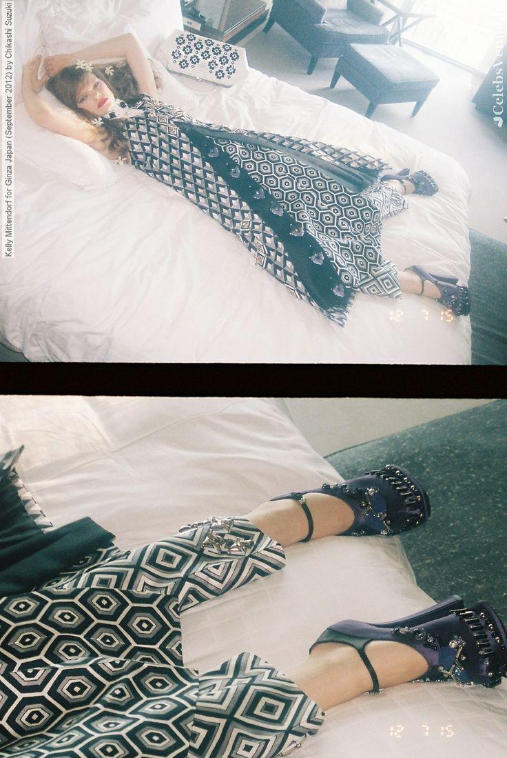 Kelly Mittendorf for Ginza Japan - September 2012 by Chikashi Suzuki
