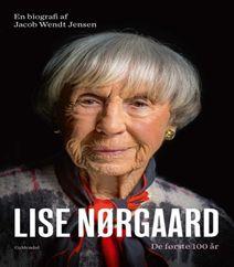 """Lise Nørgaard af Jacob Wendt Jensen, de første 100 år, er en biografi, der beskriver Lise Nørgaards positive sind og tone, samt favner en hyldest og en skitsering af Lise Nørgaards til tider kritiske blik. Biografien byder også på nye fortællinger og historier fra arbejdskollegaer, venner og familie. Lise Nørgaard har tillige givet """"Jacob Wendt Jensen"""" mulighed for, at se og referere fra hendes åbenhjertelige dialog og kommunikation gennem breve med hendes nære veninde, der dækker store dele…"""