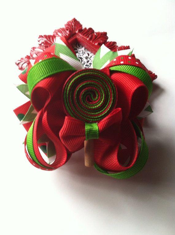 Christmas hairbow