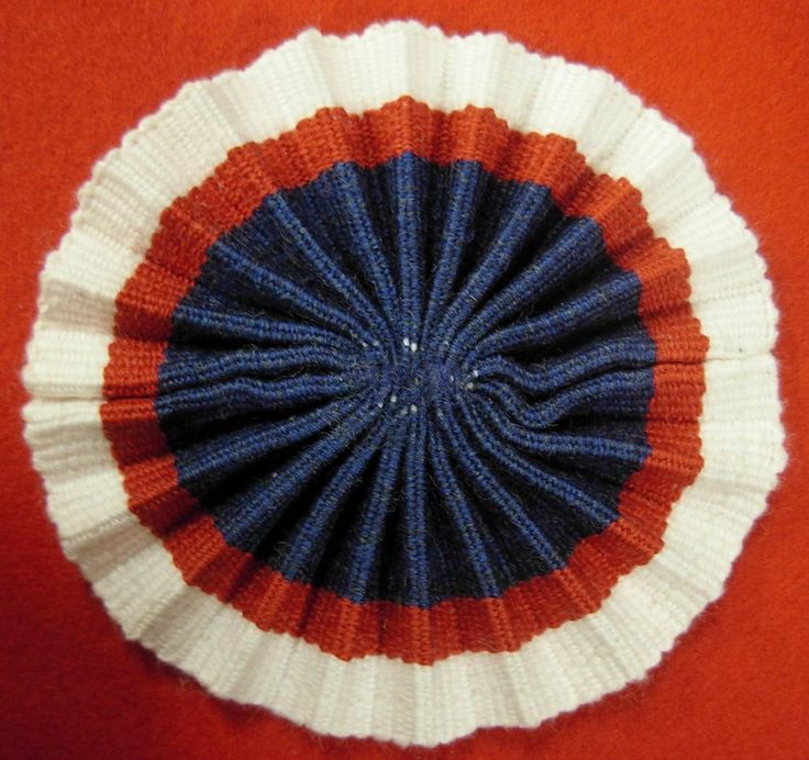 French Hat Cockade