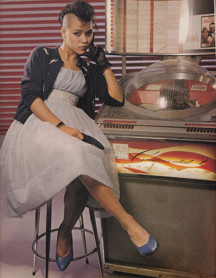 Annabella Lwin from a 1983 issue of The Face