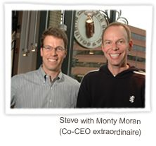 "Steve Ells founded Chipotle with the commitment to ""Food with Integrity"". They always look closer, dig deeper, and work harder to ensure that their actions are making things better, not worse. It's their promise to run their business in a way that doesn't exploit animals, people or the environment. It is the philosophy that guides every decision they make at Chipotle."