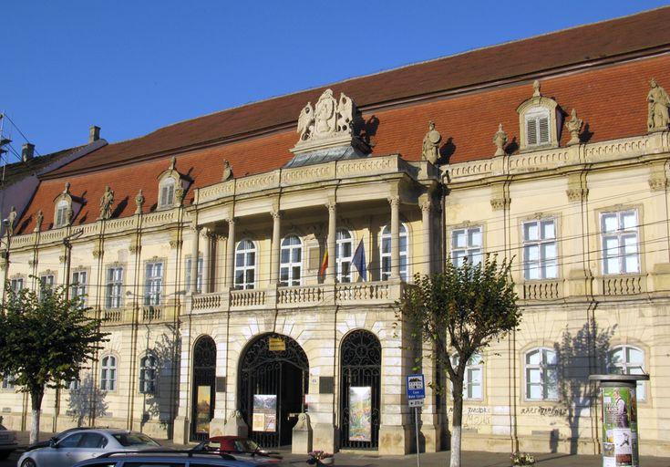 Bánffy Castle is a baroque building of the 18th century in Cluj-Napoca, designed by the German architect Johann Eberhard Blaumann.