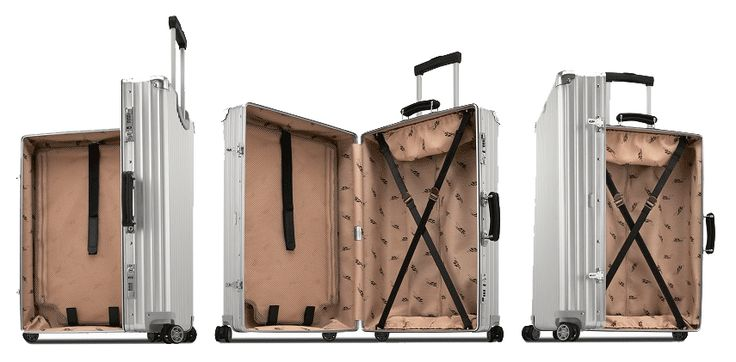 Kufr RIMOWA 84 Classic Flight, stříbrný | Delmas.cz - kabelky, peněženky, pánské tašky, cestovní zavazadla