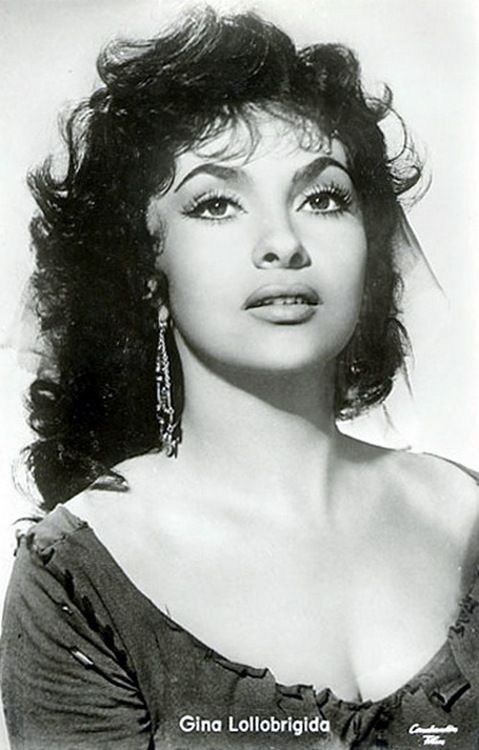 Gina Lollobrigida.  So Beautiful.
