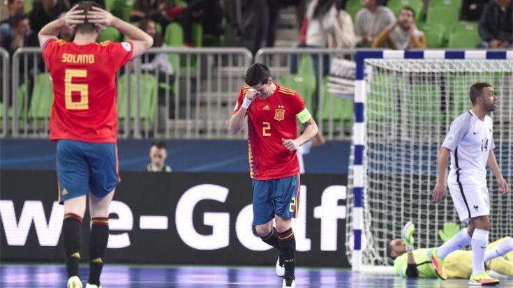 España se estrenó en la Eurocopa de Eslovenia 2018 con un empate contra Francia y contra sus propios errores, claves