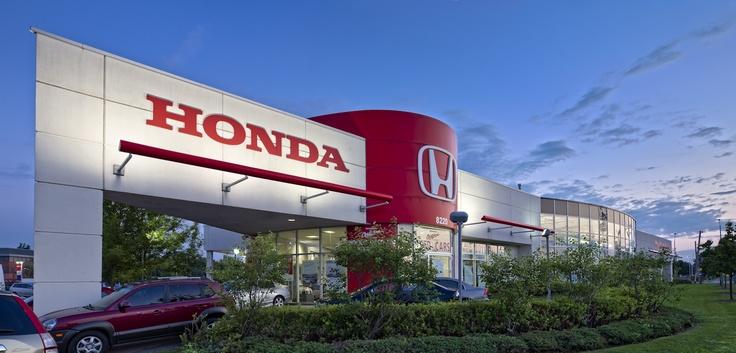 Honda dealership in Unionville Ontario.
