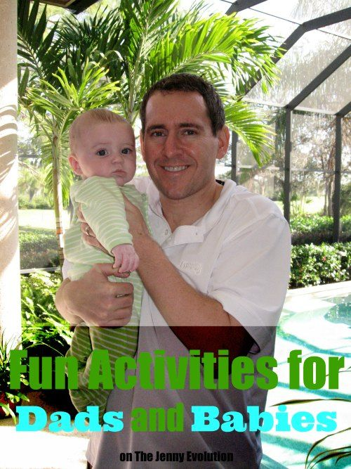 Fun Bonding Activities for Dads and Babies