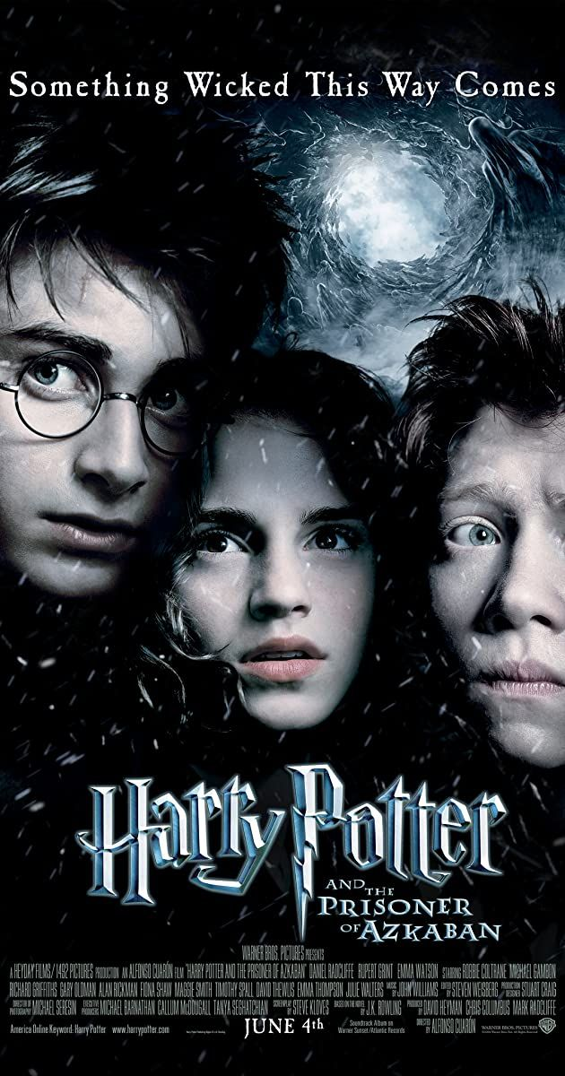 Harry Potter And The Prisoner Of Azkaban 2004 Imdb Harry Potter Movie Posters Prisoner Of Azkaban Harry Potter Movies