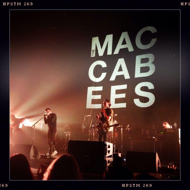 The Maccabees supporting Kasabian at O2 Brixton
