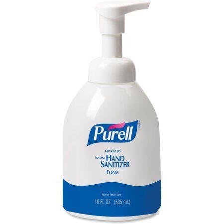 Purell 9652 K1 Advanced Hand Sanitizer And Sanitizing Wipe Kit
