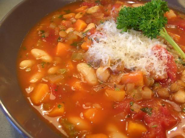 Lentil and Cannellini Bean Soup | Recipe | Lentils, Beans and Soups