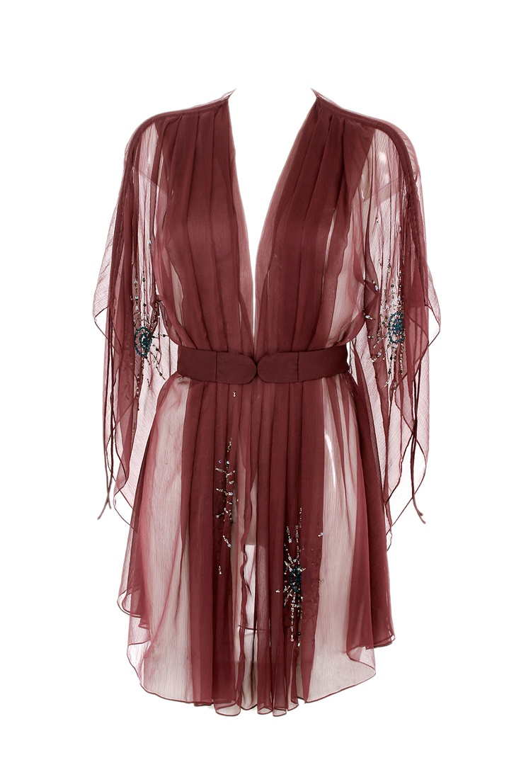 Ell & Cee: this luxurious lingerie company really knows what it's doing when it comes to underwear and lounge wear. We love this line of silky kimonos, perfect for cool but temperate summer evenings.