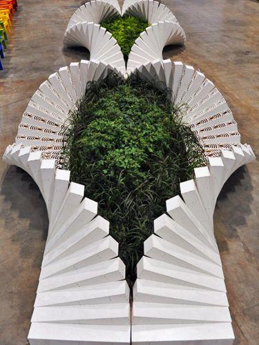 Interactive garden an experimental moss garden designed for Interactive landscape design