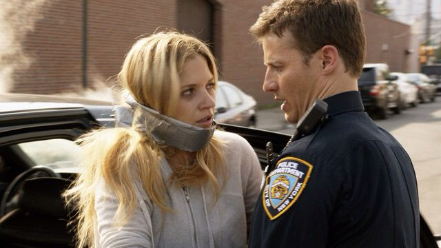 Jamie reagan will estes with his partner edit jenco for What happened to danny s wife on blue bloods