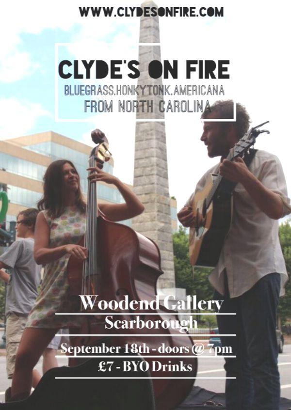 Don't forget to check out our next music events here at Woodend - never a dull evening!