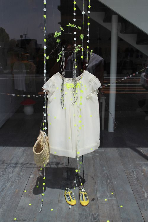 The shop window of a simply beautiful kidswear store Bonpoint,... - WGSN