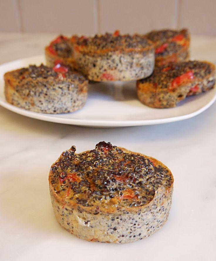Muffins quinoa gourmands