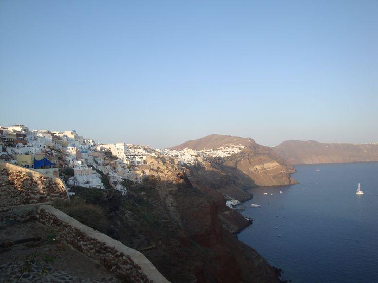 The other side of Oia, Santorini https://arturania.com/santorini