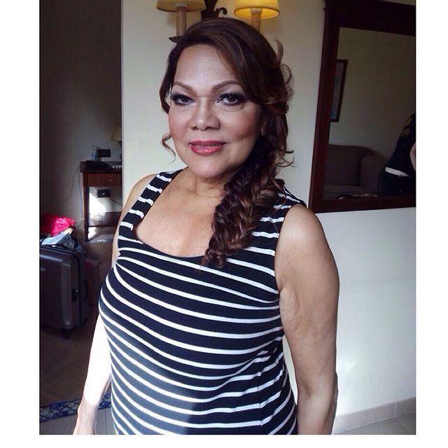 Angela Carrasco recién peinada y maquillada por nuestros estilistas para la Gala Starlite.… http://ift.tt/1PN7YFh