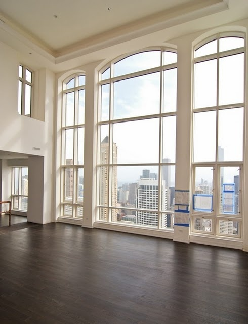 high ceilings and perfect view..the makings of my dream apartment