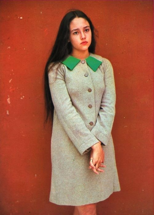 Olivia Hussey, 1960s. I thought she was the most beautiful girl. Best Juliet ever.