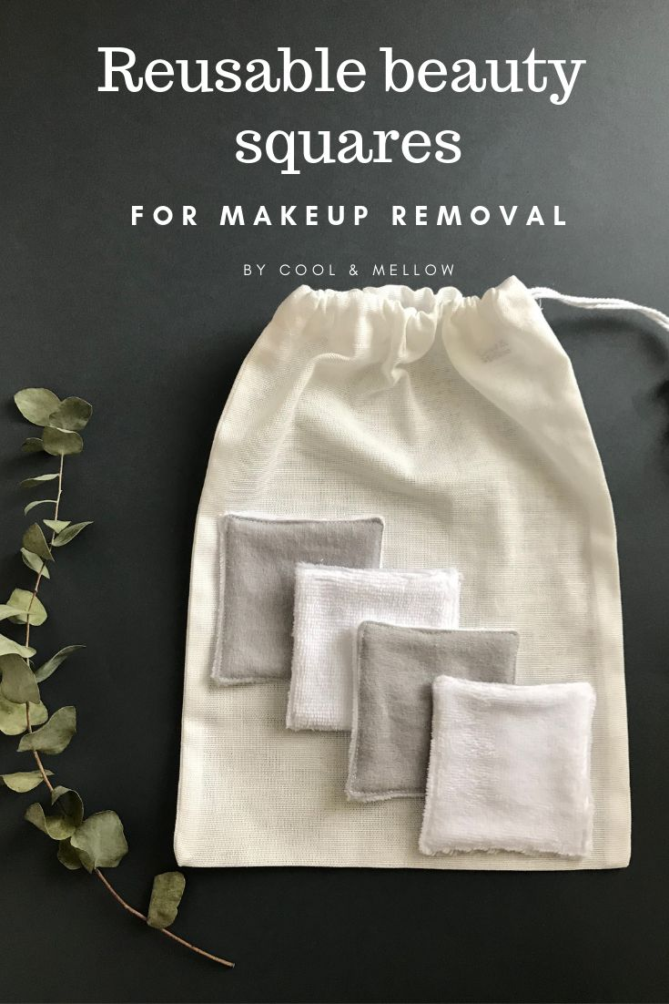 Zero waste kit for makeup removal. Reusable cotton rounds