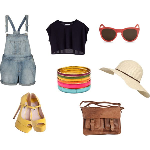 """""""Summer Afternoon Outing Outfit"""" by fotc on Polyvore"""