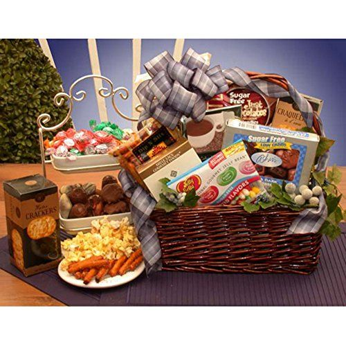 Best 25 sugar free jelly beans ideas on pinterest blueberry diabetic sugar free gourmet gift basket heres a hard to find gift for the diabetic or for the dieter the simply sugar free gift basket brings goodies and negle Images