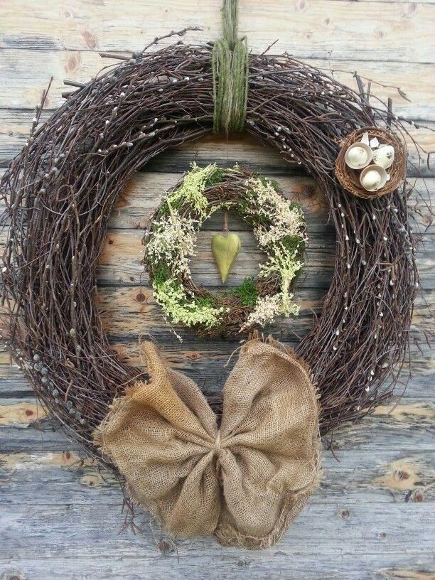 Easter wreath by Z.K.