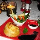 Recipe photo: Mini Beef Wellingtons and Red Wine Sauce