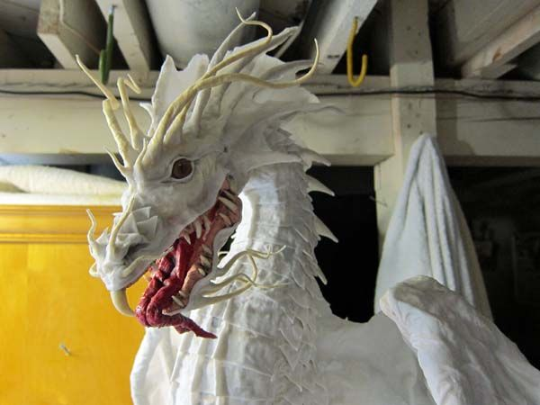 35 best images about paper mache creatures on pinterest for Best paper for paper mache