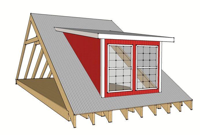 21 best brannit images on pinterest shed dormer dormer for Shed with dormer