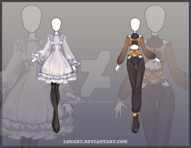 [Open] Design adopt_127-128 by Lonary.deviantart.com on @DeviantArt