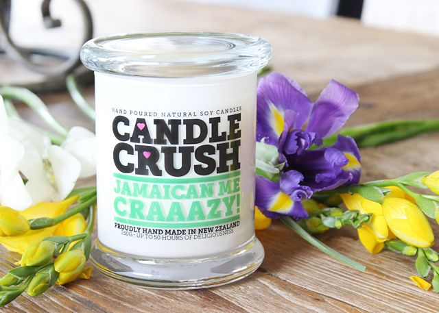 CANDLE CRUSH: JAMAICAN ME CRAAAZY! http://www.beautylust.co.nz/win-1-of-4-new-candles-from-candle-crush