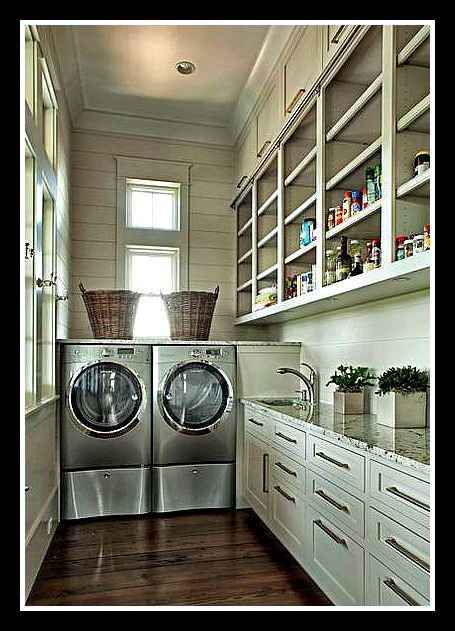 12 best images about pantry laundry combos on pinterest for Mudroom pantry