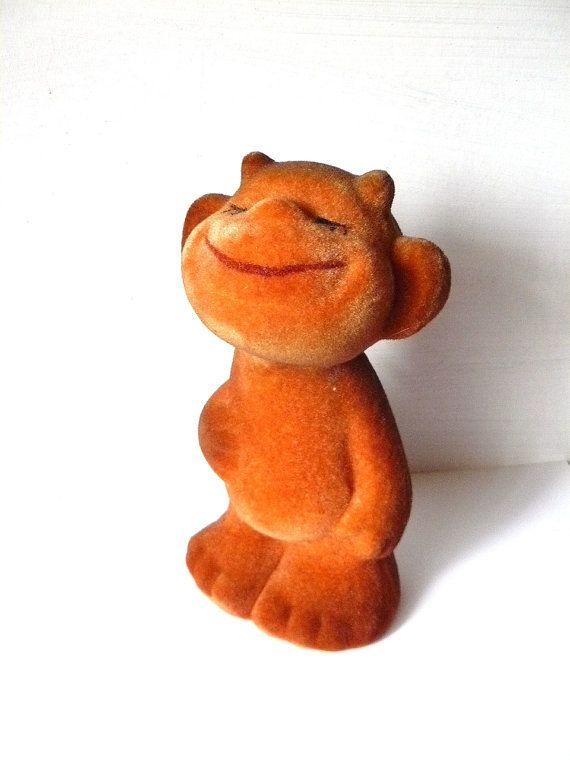 Soft toy little Devil from Soviet Union flocking by AtticSpider