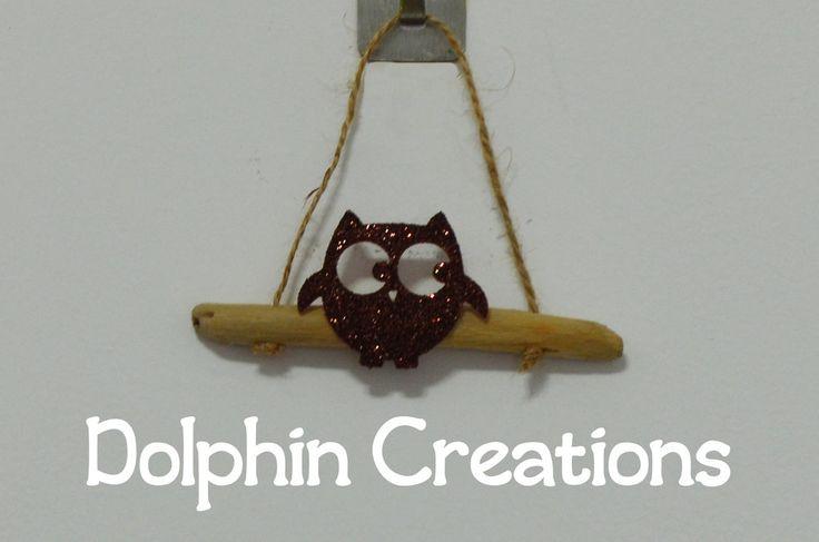 Legnetti decorati da appendere, by Dolphin Creations - Handmade by Laura, 4,00 € su misshobby.com