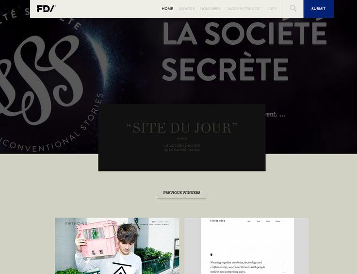 The best web design | French Design Index