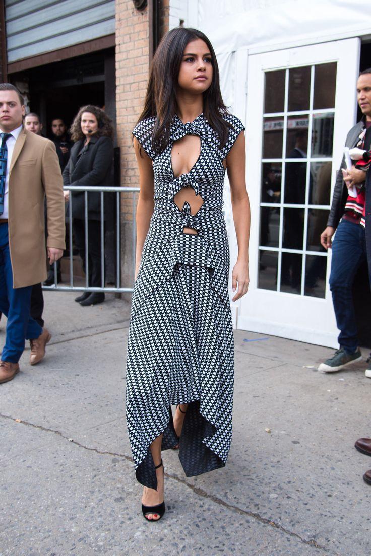 February 8: Selena arriving at her hotel in SoHo, New York