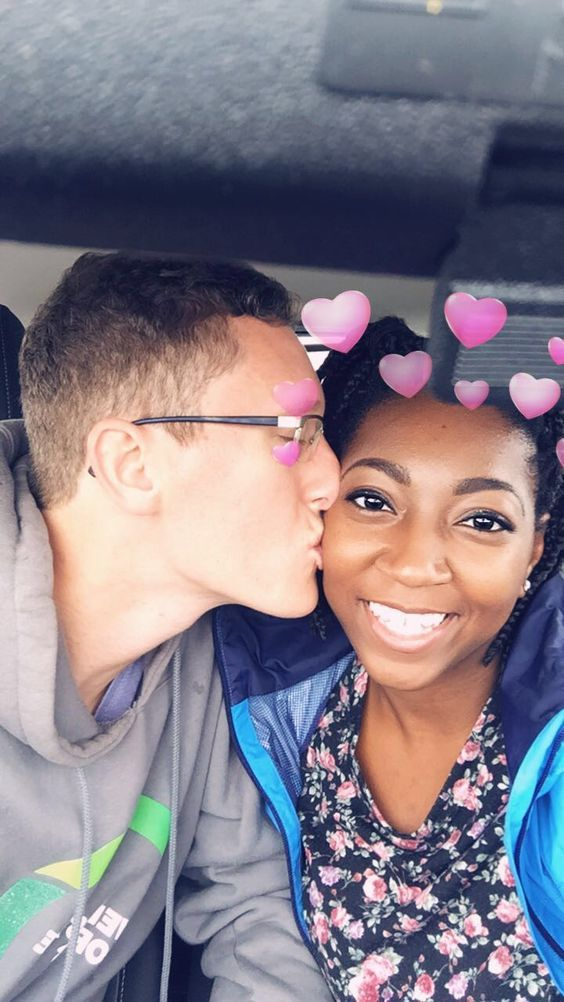 Cute interracial couple #love #wmbw #bwwm #swirl #biracial #mixed #lovingday #relationshipgoals