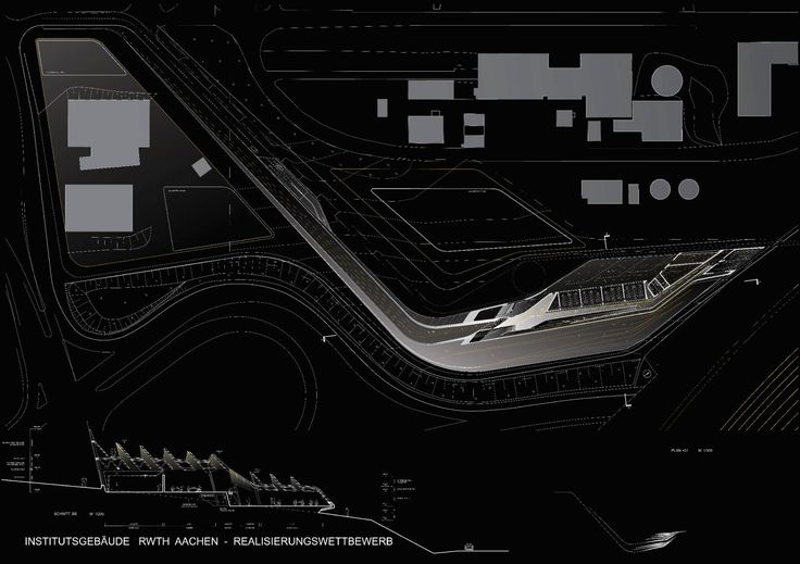E on energy research centre architecture zaha hadid for Architecture parametrique