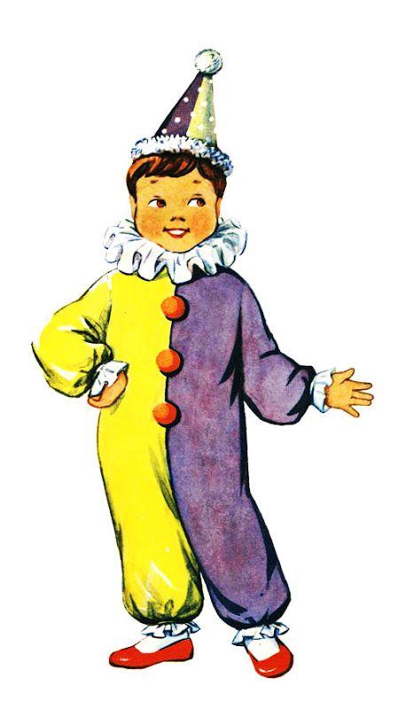 Костюм клоуна-петрушки