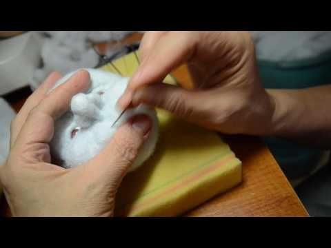 мастер класс по изготовлению скульптурной -текстильной куклы ч.2 - YouTube